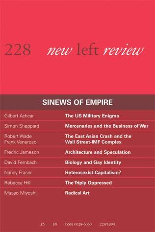Robert Wade & Frank Veneroso, The Asian Crisis: The High