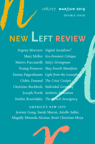 Evgeny Morozov, Digital Socialism?, NLR 116/117, March–June 2019