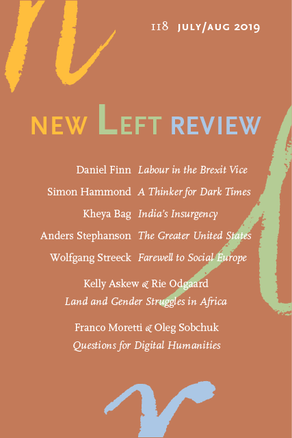 Image result for new left review 118
